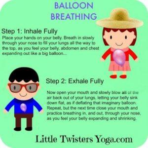 COPD balloon breathing