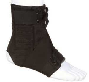 using a brace for ankle injuries