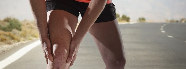 Knee ligament injuries common to athletes