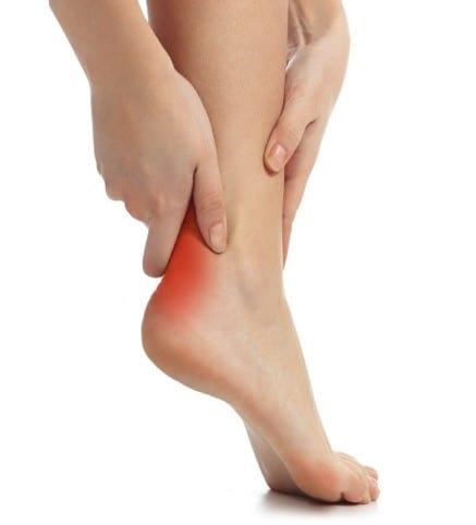 achilles tendinopathy pain area