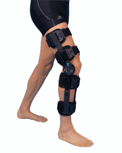 a serious multi-ligament knee dislocation may require a full leg brace