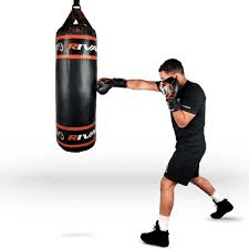 exercising from home: boxing