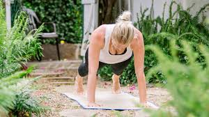 press ups are good strength exercises at home